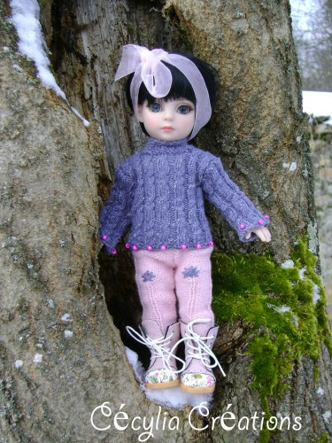 Patsy, Ann Estelle, doll, bjd, outfit, knitting pattern